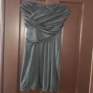 Express Strapless Formal Dress.